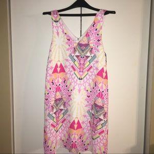 Everly tribal pattern dress